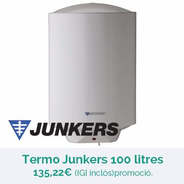 OFERTA TERMO JUNKERS 100 LITRES