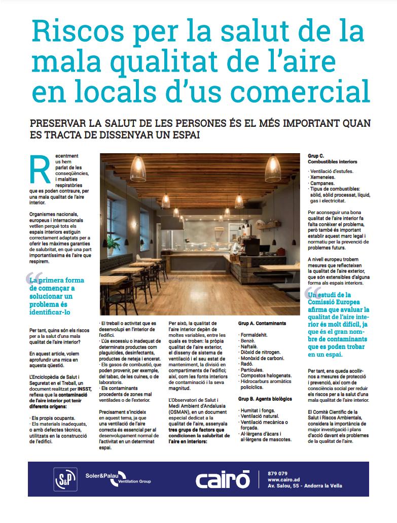 Noticia publicada al Diari d'Andorra