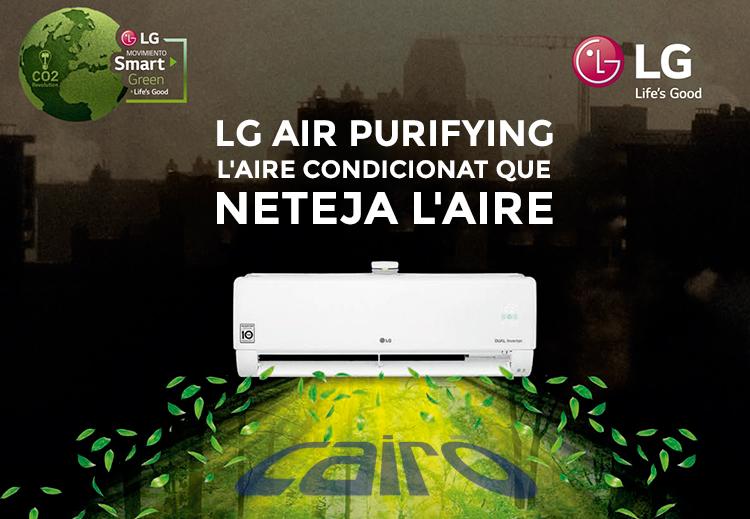 LG AIR PURIFYING WIFI R32