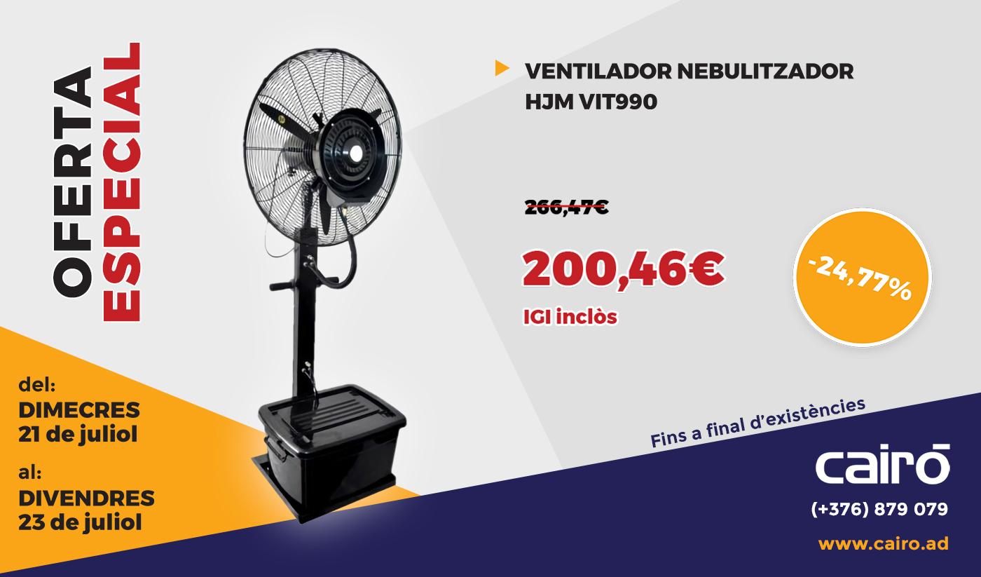 Ventilador-Nebulitzador HJM VIT-990