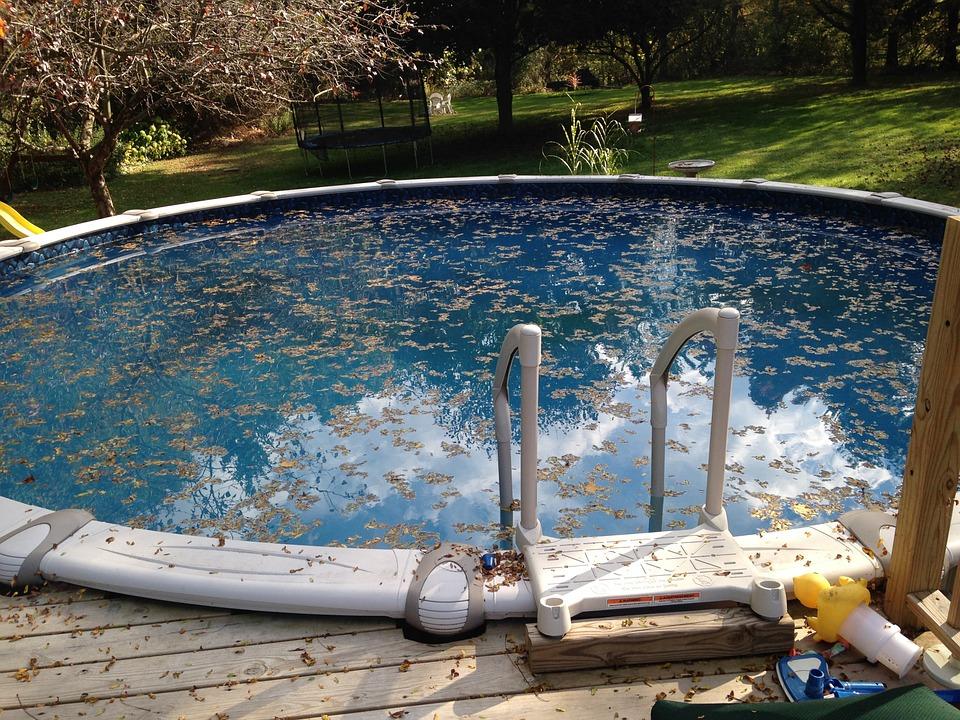 presència d'algues en una piscina