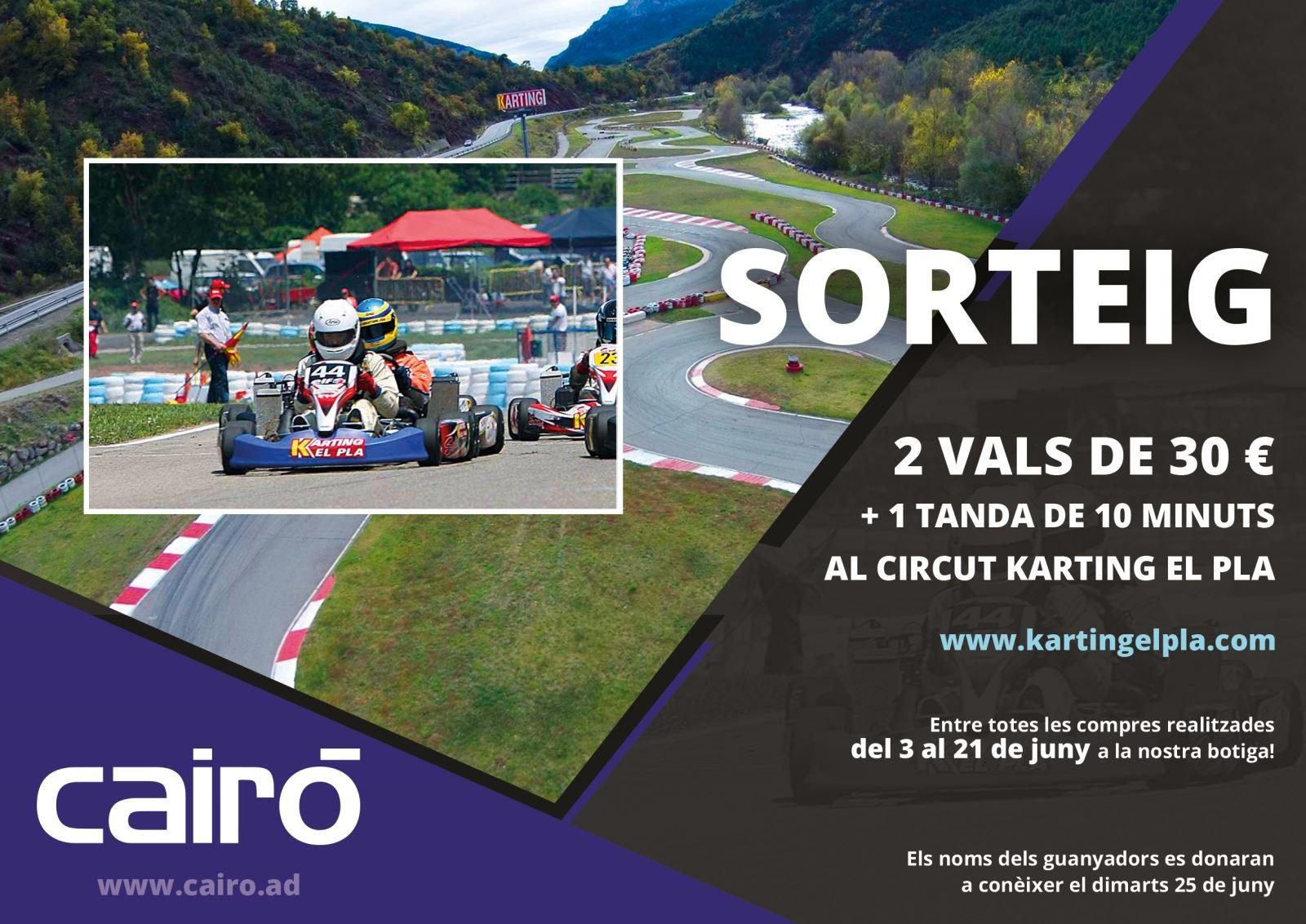 Sorteig Karting El Pla
